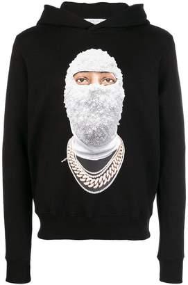Ih Nom Uh Nit Gold Face hoodie