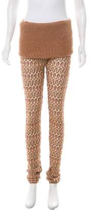 Missoni Knit High-Rise Pants