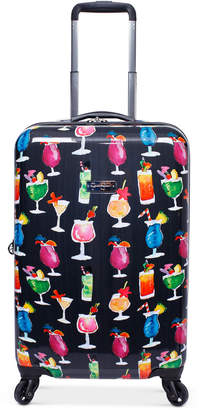 """Jessica Simpson Bottoms Up 20"""" Carry-On Spinner Suitcase"""