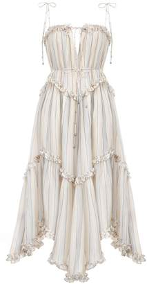 Zimmermann Bowie Floating Stripe Dress