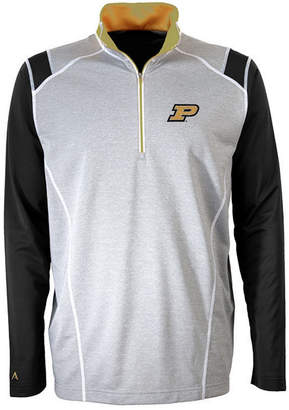 Antigua Men's Purdue Boilermakers Automatic Quarter-Zip Pullover