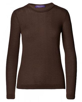 Ralph Lauren Cashmere Crewneck Sweater $750 thestylecure.com