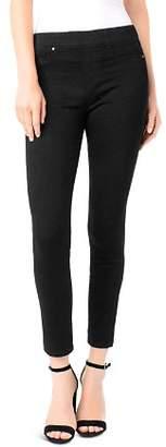 Liverpool Chloe Legging Ankle Jeans in Black Rinse