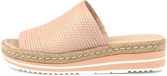 Django & Juliette Accent Nude Sandals Womens Shoes Casual Sandals-flat Sandals