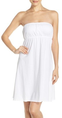 Women's Hard Tail Strapless Cover-Up Dress $88 thestylecure.com