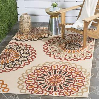 Andover Mills Tierney Beige Indoor/Outdoor Area Rug