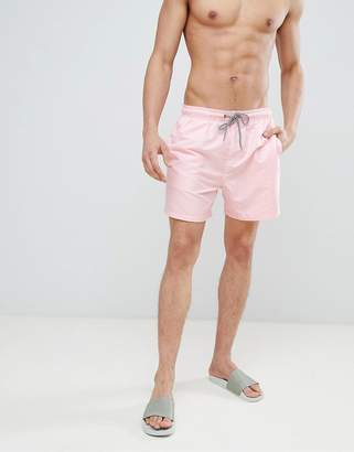 New Look Swim Shorts In Pink