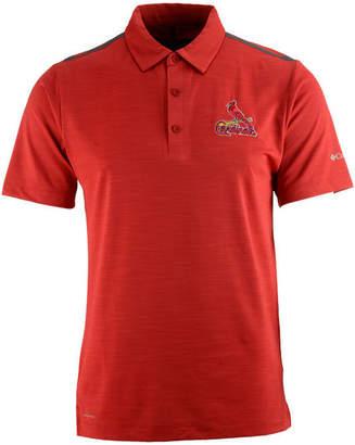 Columbia Men's St. Louis Cardinals Omni-Wick Alignment Polo
