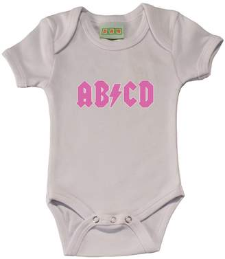 PAM GM ABCD in pink baby Bodysuit
