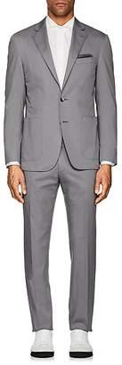 Canali Men's Kei Stretch-Cotton Two-Button Suit
