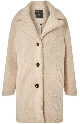 Dorothy Perkins Womens Oatmeal Teddy Coat
