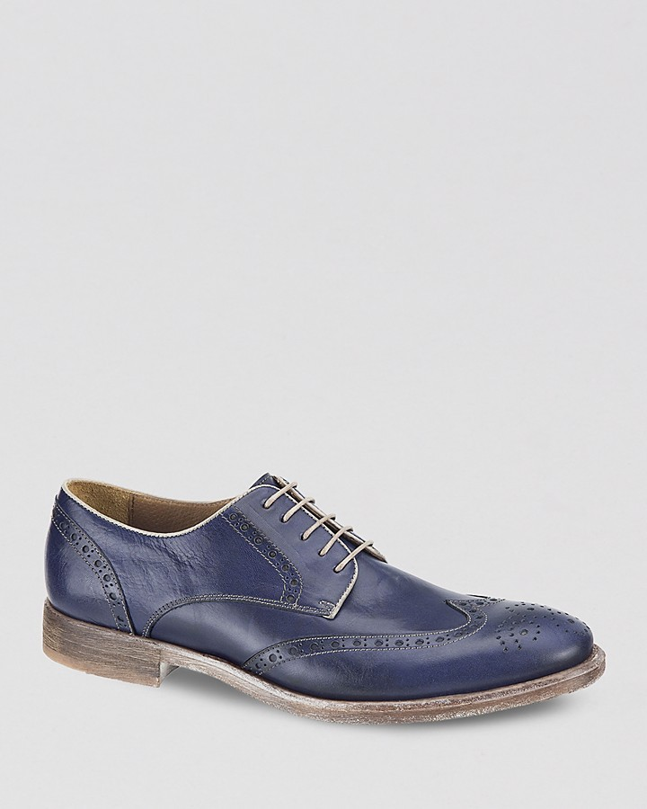Johnston & Murphy Westmore Calfskin Wingtip Oxfords