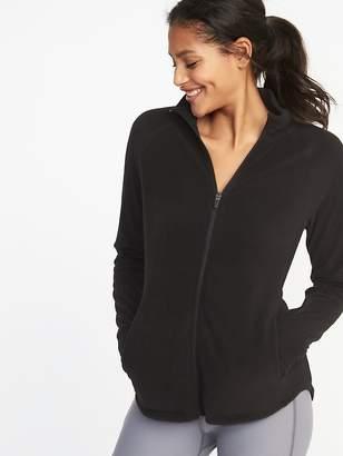 Old Navy Semi-Fitted Full-Zip Performance Fleece Jacket for Women