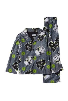 Star Wars AME Button Down Pajama Set (Little Boys & Big Boys)
