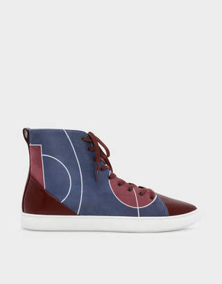 Charles & Keith Classic High Cut Sneakers
