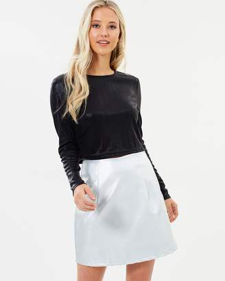 Dulce Metallic Skirt