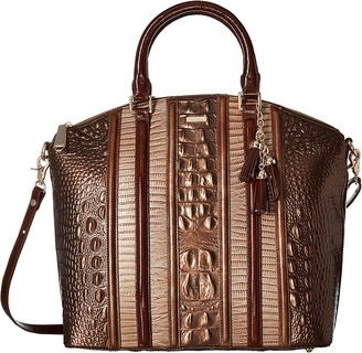 Brahmin - Large Duxbury Satchel Satchel Handbags $355 thestylecure.com