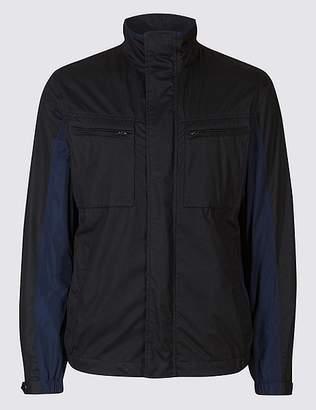 Marks and Spencer Shower Resist Textured Jacket