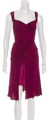 Donna Karan Knit Midi Dress