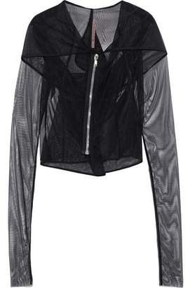 Rick Owens Lilies Draped Tulle Jacket