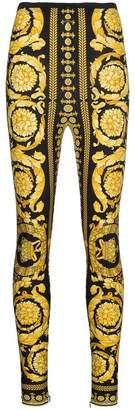 Versace Barocco FW 91 Print Leggings