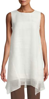 Lafayette 148 New York Tessa Sleeveless Handkerchief Tunic