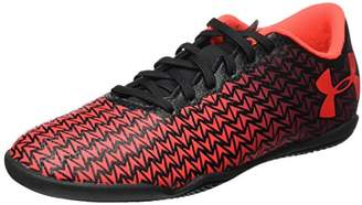 Under Armour Unisex Kids' Ua Cf Force 3.0 in Jr Footbal Shoes,Black (Black ) ,(34 EU)