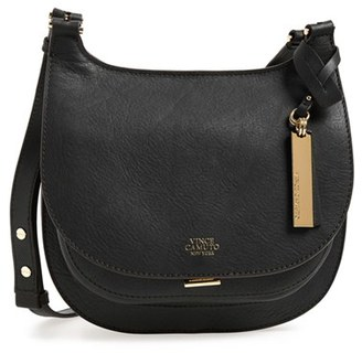 Vince Camuto 'Small Elyza' Crossbody Bag - Black $198 thestylecure.com