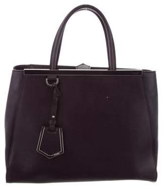 Fendi Medium 2Jours Tote Plum Medium 2Jours Tote