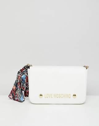 Love Moschino Stud Logo Bag