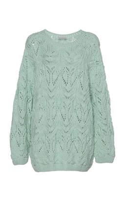 Vika Gazinskaya Oversized Hand-Knit Sweater
