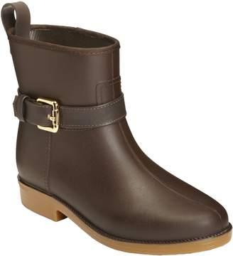 Aerosoles Martha Stewart Ankle-High Rain Boots- Bridgehampton