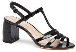 Loeffler Randall Elena Strappy Leather Slingback Sandals