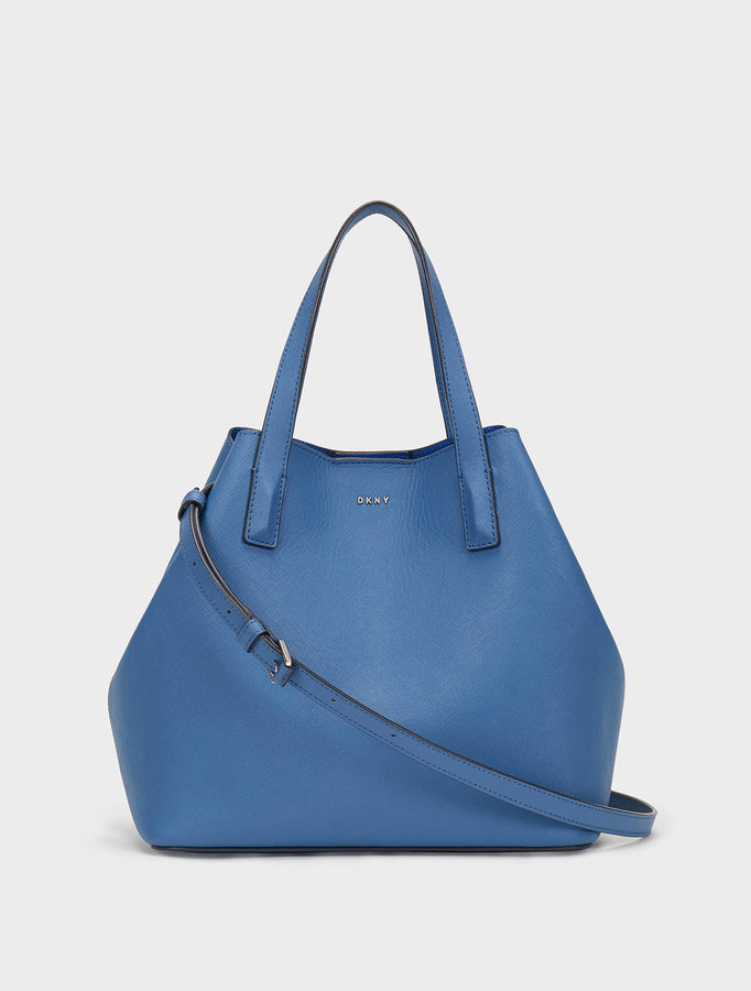 DKNY Large Bryant Park Bonded Saffiano Leather Tote