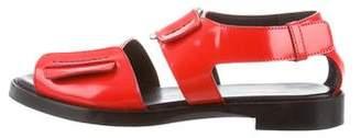 3.1 Phillip Lim Leather Wraparound Sandals