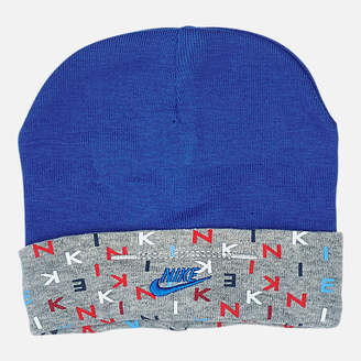 Nike Infant Allover Print Hat and Bootie Set