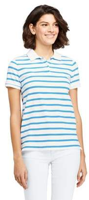 Lands' End Women's Short Sleeve Mesh Polo T-Shirt