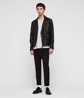 AllSaints Ezra Leather Biker Jacket