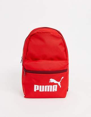 Puma Phase small backpack in red