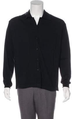 Versace V2 Knit Merino Wool Shirt