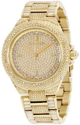 Michael Kors Camille MK5720 Crystal Covered Gold Tone Stainless Steel 44mm Womens Watch
