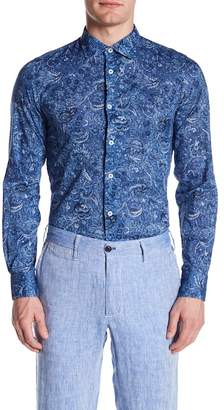 Ganesh Cotton Floral Long Sleeve Shirt