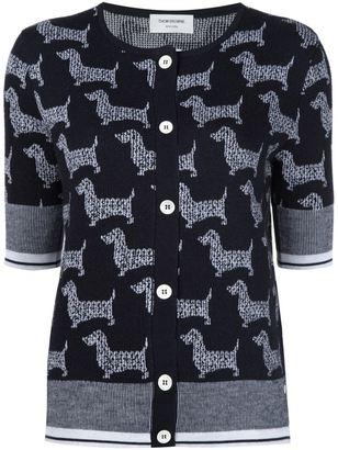 Thom Browne dog intarsia cardigan $1,284 thestylecure.com
