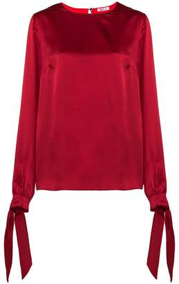P.A.R.O.S.H. tie sleeves blouse