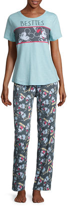 DISNEY Disney Cotton Pant Pajama Set-Juniors $24.99 thestylecure.com