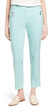 Women's Chaus Dena Zip Pocket Ankle Pants $69 thestylecure.com