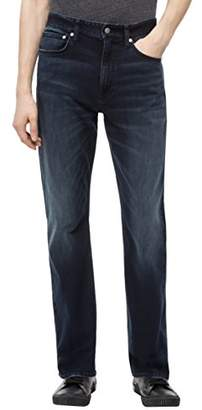 Calvin Klein Men's CKJ 037 Relaxed Straight Fit Jeans