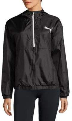 Puma Graphic Half-Zip Jacket