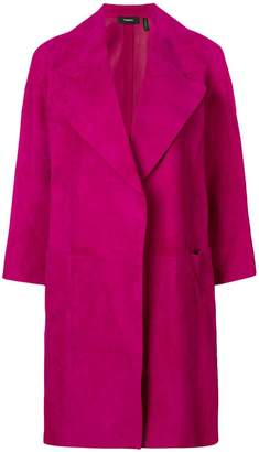 Theory loose-fit coat