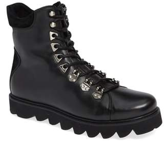 Karl Lagerfeld PARIS Sawtooth Hiker Boot